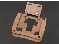 Wooden Transmitter Tray w/Neck Strap (Great for FPV)