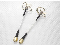 5.8 GHz Circular Polarized Antenna SMA (Transmitter and Receiver)