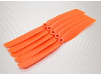 GWS Style Propeller 8x4 Orange (CCW) (5pcs)