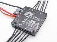 Q Brain 4 x 25A Brushless Quadcopter ESC 2-4S 3A SBEC