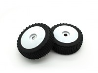 1/8 Scale Pro Dish Wheels With Tires (2pc)