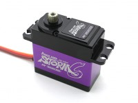 Power HD Storm-6 High Voltage Hi-Speed Digital Brushless Servo w/Titanium Alloy Gears 9.5kg/.04s/80g