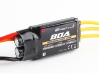 RotorStar 80A (2~6S) SBEC Brushless Speed Controller