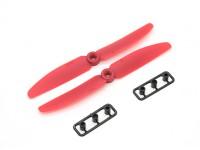 Gemfan Propeller 5x3 RED (CW/CCW) (2pcs)