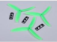 HobbyKing™ Propeller 5x3 Green (CW) (3pcs)