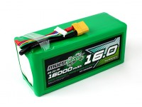 Multistar High Capacity 16000mAh 6S 10C Multi-Rotor Lipo Pack XT90