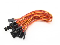 20cm Female to Female Servo Lead (JR) 26AWG (10pcs/set)