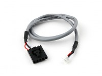 400mm 5 Pin Molex/JR to 3 Pin White Shielded Connector Lead