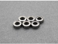 Ball Bearings 4 x 8 x 3mm - Basher PitBull 1/18 4WD Desert Buggy (6pcs)