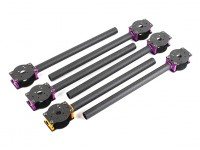 HobbyKing™ S700 Carbon and Metal Hexacopter Carbon Boom Set (6pcs)