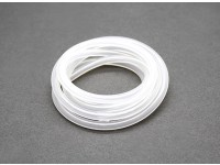 Silicon fuel pipe (1 mtr) White for Nitro Engines 4x2.5mm