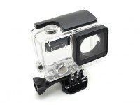 Skeleton Protective Housing with Lens for GoPro Hero 3 plus