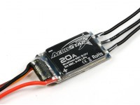 Aerostar 20A Electronic Speed Controller with 2A BEC (2~4S)