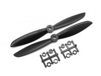 Gemfan 6045 GRP/Nylon Propellers CW/CCW Set (Black) 6 x 4.5
