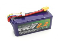 Turnigy nano-tech 2200mah 6S 65~130C LiPoly Battery