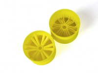 BSR Berserker 1/8 Electric Truggy - Rim (Yellow) (1 pair) 817251-Y