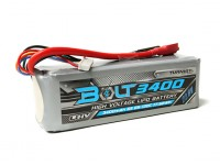 Turnigy Bolt 3400mAh 6S 22.8V 65~130C High Voltage Lipoly Pack (LiHV)