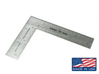 "Zona Precision 3"" x 4"" Stainless Steel L Square Ruler"