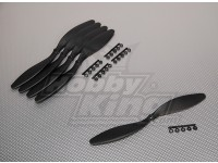 GWS Style Slowfly Propeller 10x4.7 Black (CCW) (5pcs)