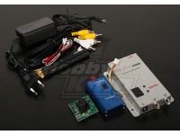 2.4GHZ 1000mW Tx/Rx & 1/3-inch CCD Camera NTSC