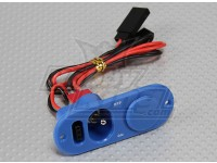 Power Switch and Charge Port with Pre-Cut Fuel Dot