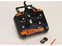 HobbyKing AFHDS 2.4Ghz 6Ch Transmitter w/Receiver V2 (Mode 1)