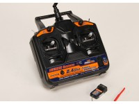 HobbyKing AFHDS 2.4Ghz 6Ch Transmitter w/Receiver V2 (Mode 2)