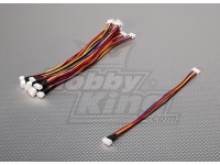 JST-XH 4S Wire Extension 20cm (10pcs/bag)