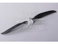 Folding Propeller W/Alloy Hub 45mm/4mm Shaft 12x7 (1pc)