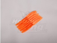 GWS Style Propeller 4.5x3 Orange (CCW) (6pcs)