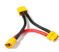 XT60 Harness for 2 Packs in Series (1pc)