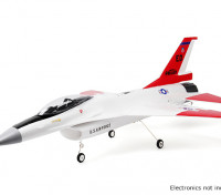 "H-King F-16 Falcon Jet 70mm EDF 670mm (26"") Wingspan EPO Kit Version"