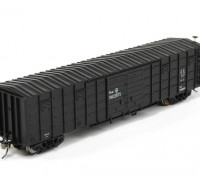 P64K Box Car (Ho Scale - 4 Pack) (Black Set 3) front