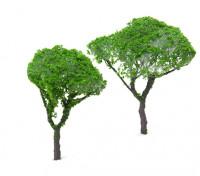 HobbyKing Model Railway Scale Trees  80mm (2 pcs)