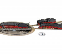 Fleischmann HO Electric Turntable with Switchable Track Exits and Turntable Switch
