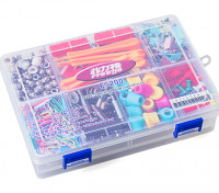 Large 8 Compartment Parts Box with Latching Lid