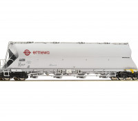 "Roco/Fleischmann HO Scale Coal Dust Container Carrier Wagon ""ERMEWA"""