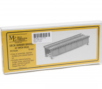 Micro Engineering HO Scale 30ft Open Deck Girder Bridge Kit (70-502)