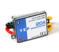 YEP 120A HV (4~14S) Brushless Speed Controller (OPTO)