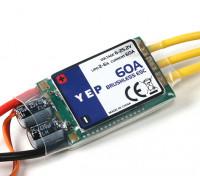 YEP 60A (2~6S) SBEC Brushless Speed Controller
