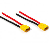 XT90 Plug Male 10AWG 10cm Tail (2pcs/bag)