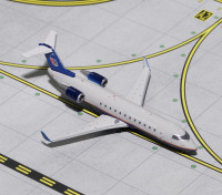 Gemini Jets United Express (Air Wisconsin) Bombardier CRJ-200 N417AW 1:400 Diecast Model GJUAL1633