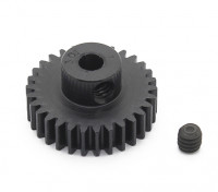Robinson Racing Black Anodized Aluminum Pinion Gear 48 Pitch 30T