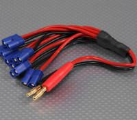 4mm Banana Plug with 6 x EC3 Plug Charging Harness