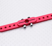 Heavy Duty Alloy 3.0in Pull-Pull Servo Arm - JR (Red)