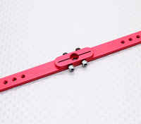 Heavy Duty Alloy 4.5in Pull-Pull Servo Arm - JR (Red)