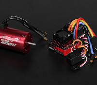 Turnigy TrackStar Waterproof 1/10 Brushless Power System 4000KV/80A