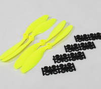 8045 SF Props 2pc CW 2 pc CCW Rotation (Flouro Yellow)