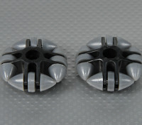 49x20mm Plastic Omni Wheel (2Pcs/Bag)