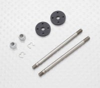 Front Shock Shaft & Piston Set - 1/10 Quanum Vandal 4WD Racing Buggy (2sets)